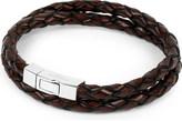 Tateossian Scoubidou leather bracelet