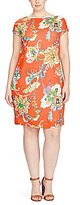 Lauren Ralph Lauren Plus Floral Shift Dress