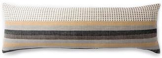 Bole Road Textiles Suri 12x36 Lumbar Pillow - Sable