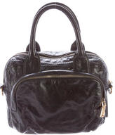 Prada Glace Leather Satchel