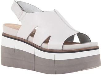 Naked Feet Geo Platform Wedge Sandal