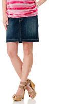 Motherhood Secret Fit Belly® Mini 5 Pocket Maternity Skirt
