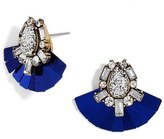 BaubleBar Gladys Crystal Stud Earrings