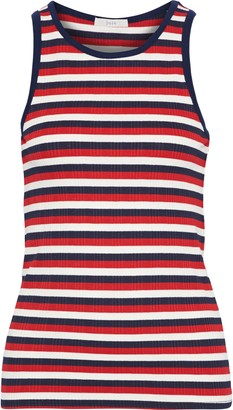 Joie Ruzha B Striped Ribbed Jersey Tank