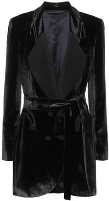 BLAZÉ MILANO Etoile velvet dress