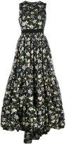 Alexander McQueen floral brocade gown - women - Polyester/Polyamide/Silk/Viscose - 38