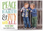 Minted Peace & Joy Christmas Photo Cards