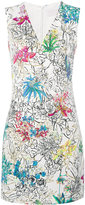 Peter Pilotto sleeveless floral print mini dress - women - Polyester/Spandex/Elastane/Acetate/Viscose - 10