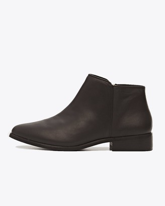 Nisolo Lana Ankle Boot Black/black