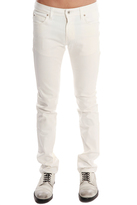 Naked & Famous Denim Super Skinny Ivory Power White