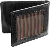 Jack Georges Tuscana Classico Slim Bi-Fold Wallet with Money Clip - Buffalo Leather