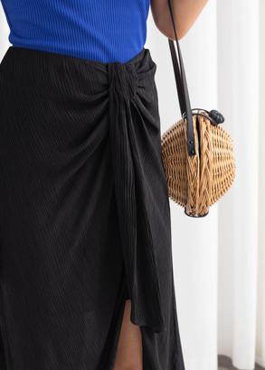 And other stories Midi Sarong Skirt