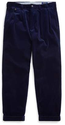 Ralph Lauren Pleated Baggy Corduroy Trouser