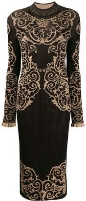 Fendi loungette knitted dress