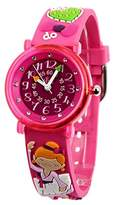 Baby Watch – 606030 – Classico – Teacher Girl Watch – Quartz – Pink Dial Pink Plastic Strap
