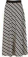 Dorothy Perkins Womens *Izabel London Multi Coloured Stripe Midi Skirt- Multi