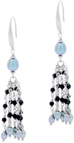 Honora Sterling Silver Gemstone Tassel Earrings