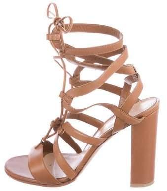 Gianvito Rossi Leather Multi-Strap Sandals