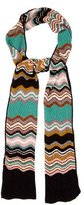 M Missoni Metallic Chevron Scarf