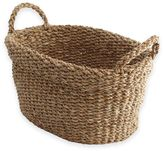 Oakland Oval Seagrass Basket in Natural