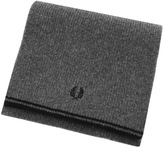 Fred Perry Twin Tipped Lambswool Scarf Grey