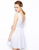 New Look Daisy Wrap Back Sundress