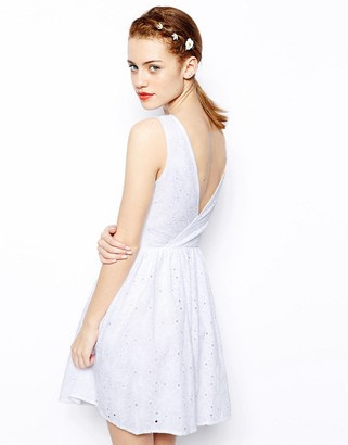 New Look Daisy Wrap Back Sundress
