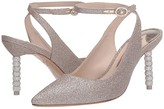 Sophia Webster Jasmine Mid Pump (Champagne Glitter) Women's Shoes
