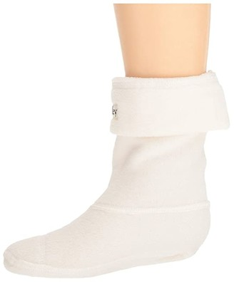 Hatley Boot Liner Socks (Toddler/Little Kid) (Cream) Kids Shoes