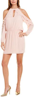 Krisa Cold-Shoulder Mini Dress