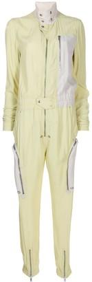 Rick Owens Deconstructed Long Sleeve Jumpsuit