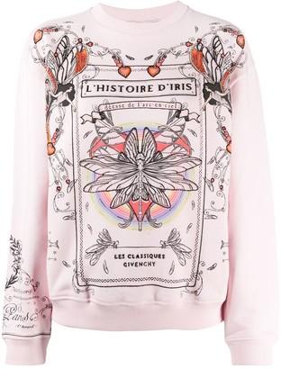 Givenchy Iris story printed sweatshirt