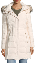Cole Haan Women's Faux Fur-Accented Down Jacket