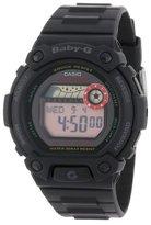 Casio Women's BLX102-1 Baby-G Multi-Function Black Resin Digital Watch
