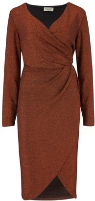 Sugarhill Brighton Duana Sparkle Wrap Dress