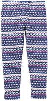 Carter's Girls 4-8 Printed Fleece-Lined Leggings