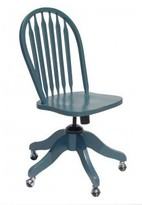 The Well Appointed House Newport Cottages Swivel Desk Chair-Available in a Variety of Finishes