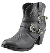 Dingo Bridget Women Round Toe Leather Black Western Boot.