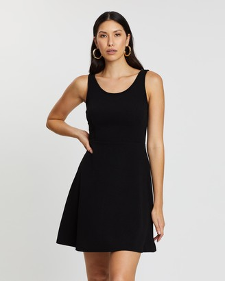 Spurr Sally Seamed Fit-And-Flare Dress