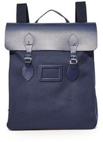 Cambridge Satchel Canvas Steamer Backpack