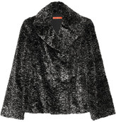 Alice + Olivia Kayden cropped faux fur coat