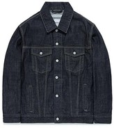 Washed Denim Jacket Fa [indgo]