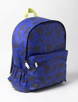 Printed Rucksack Bright Blue Nightwatch Boys Boden