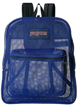 JanSport Mesh Pack (Regal Blue) Backpack Bags