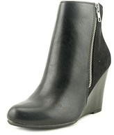 Report Russi Women Round Toe Leather Ankle Boot.