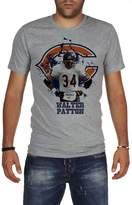 Palalula Men's American Football NFL Chicago Bears Walter Payton Tribute T-Shirt XL Grey