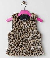 Me Jane Girls Cheetah Vest