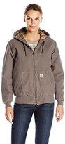 Carhartt Women's Sandstone Active Jacket Camo Lined