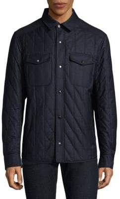 Luciano Barbera Cotton Quilted Jacket