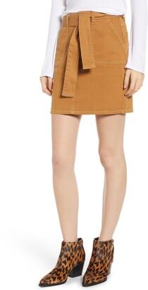 Tinsel Tie Waist Skirt